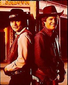 Pete Duel Ben Murphy Alias Smith and Jones RARE 1972  Photo