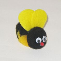 bumble bee craft....will make it for nursery to sing the bumble bee song