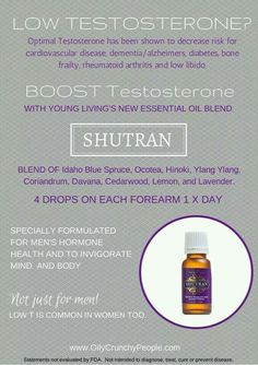 Young Living Essential Oils: Shutran Testosterone
