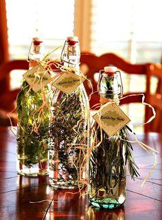 Make your own herb vinegars!
