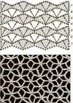 My crochet diary - with lots of free instructions, links, tips and ideas . My crochet diary - with lots of free instructions, links, tips and ideas! clothing crochet # My crochet diary - with lot. Filet Crochet Charts, Crochet Motifs, Crochet Diagram, Crochet Stitches Patterns, Knitting Charts, Crochet Doilies, Easy Crochet, Crochet Lace, Free Crochet