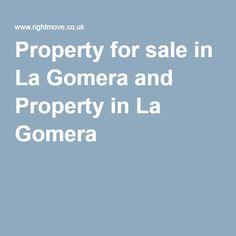 Property for sale in La Gomera and Property in La Gomera