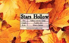 Stars Hollow - Gilmore Girls Inspired Scented Soy Candle