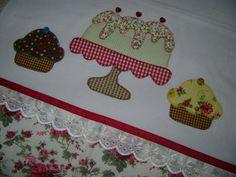 Resultado de imagen de pano de prato patchwork