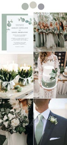 Fall Wedding Colors, Wedding Color Schemes, Emerald Wedding Colors, Vintage Wedding Colors, Wedding Colora, November Wedding Colors, Vintage Weddings, Color Themes For Wedding, Neutral Color Wedding