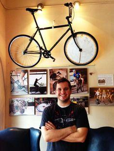 BENELUX COFFEE - RALEIGH, USA/bike theme