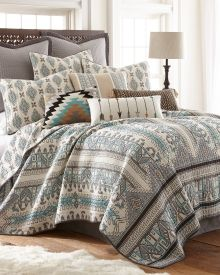 Genoa Geometric Ogees Luxury Quilt Collection   Bed U0026 Bath | Stein Mart