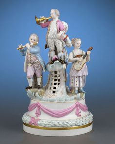 Meissen Porcelain Revelry Group
