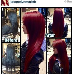 You LOVED this before and after so much we had to get you the Pravana Vivids Formula.