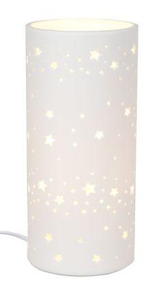Lampa Ceramiczna Mała W Gwiazdki