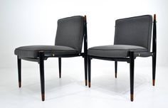 Frank Kyle Set of Ten Dining Chairs image 8