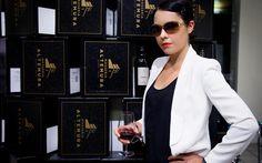 #Black. #Wine. #Wall.