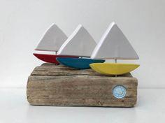 Three Pretty Sailboats