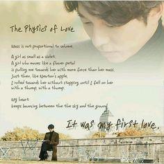 Physics of Love  #Goblin #KimShin #GongYoo