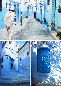 Chefchaouen, Morocco : Blue Streets of Chefchaouen | Sumally (サマリー)