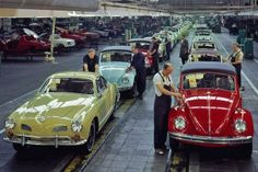 Karmann assembly - Volkswagen Karmann Ghias, Beetle Convertibles and Porsche 914s