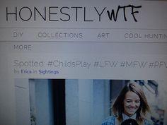 Día 27: WTF?. #FMSPhotoADay  Honestly WTF, uno de mis blogs favoritos (Honestly WTF, one of my favourite blogs)