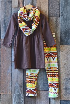 Fall Aztec Scarf Set: Preorder now for 70% off retail!