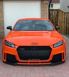 """🧡Love this Orange TT-RS Build🧡 Get off Audi tuning parts by with Code """"audilover"""" and support this page❤️ . My partner pages: . Audi Tt S, Audi 1, Bmw M3, Tt Tuning, Bmw Series, Audi Sport, Ford Gt, Amazing Cars, Audi Quattro"""