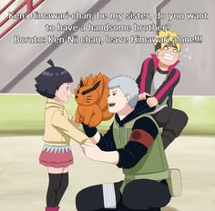 Ken wants to have a sister so much Naruto / Boruto / Himawari © Kishimoto Masashi Hatake Ken / art © Pungpp ----------------. Sasuke Sakura Sarada, Naruto Cute, Kakashi Hatake, Naruto Shippuden Anime, Anime Naruto, Shikamaru, Hatake Clan, Kid Kakashi, Naruto Clans