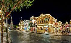 Christmas in Disneyland....