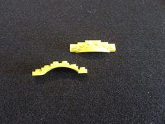 LEGO Dark Grey Gray 1 x 6 Brick With Bow Arch Castle Lot Of 12