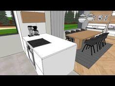 Skandinaavinen koti, 3D-sisustus Tilanna, sisustussuunnittelija Jyväskylä