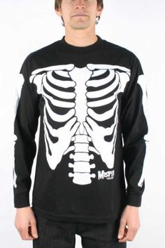 BESTSELLER! The Misfits - Glow/Dark Skeleton Adul... $31.99
