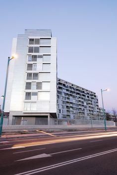 Edificio torres quevedo facultad de arquitectura e ingenier a zaragoza vah estudio de - Estudio arquitectura zaragoza ...