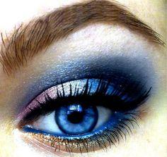 blue alien eye makeup ideas | make up tips for blue eyes, best makeup, closeup eye | Favimages.net