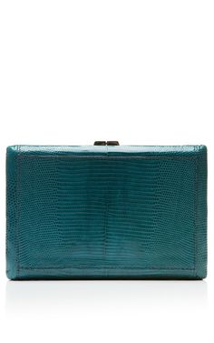 Shop Rectangle Compact Clutch In Seychelles by VBH for Preorder on Moda Operandi