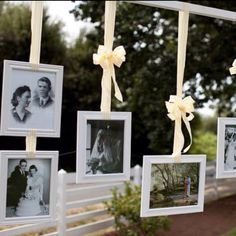 Family wedding photo display.  reuse this from SJS wedding?