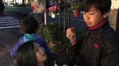 Buddy Koko and Kyndra enjoying some super #sweet #strawberries at #ginza #tokyo #japan - #imenehunes #food #delicious #supersweet #sweets #streetfood #fruits #lovestrawberries #sweetstrawberry #visitginza #visittokyo #visittokyo