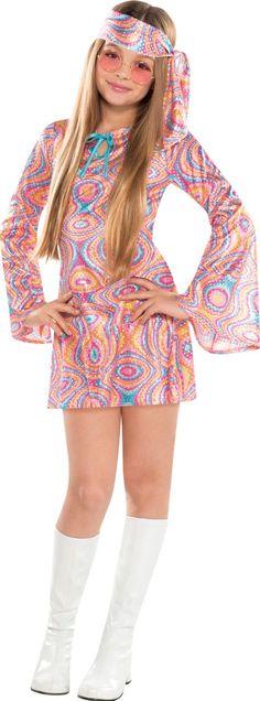 Girls Disco Diva Costume - Party City  sc 1 st  Pinterest & Kids Feelin Groovy Girls 70s Costume Disco Costumes - Mr. Costumes ...