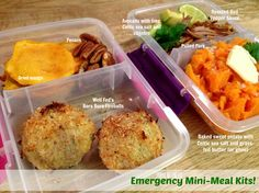 Whole30 Emergency Kits - still a great idea for us regular folks. Yummy quick snack ideas!