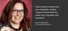 peg fitzpatrick - how to curate content