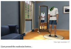This Sim. | 29 Times The Sims Went Horribly, Hilariously Wrong
