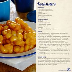 Nothing says South African heritage like some good koeksisters! #recipe