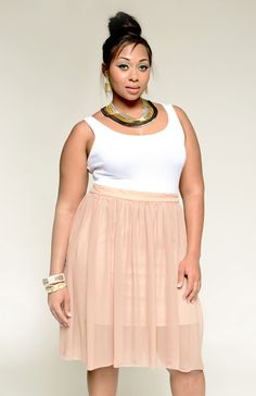 YK Sheer Maxi Skirt