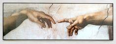 Michał Aniol - creation - plakat w czarnej aluminiowej ramie - Galeria Plakatu