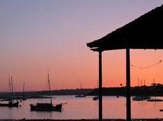 Sunset in Ria de Alvor, Algarve - dreamy!