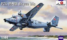 PZL M-28bis Bryza. A Model, 1/144, injection, No.1460. Price: 10,98 GBP.