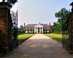 Boone Hall Plantation served as Allie's family's summer home in The Notebook. The antebellum mansion is located in South Carolina near Charleston and has the distinction of being one of America's oldest working plantations, growing and producing crops for over 320 years. The house itself dates to the early 20th century... there are even still 9 original slave cabins still standing on the property!