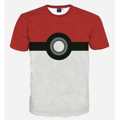 Pokemon T Shirt - 3D Pokeball