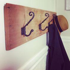 Easy coat rack