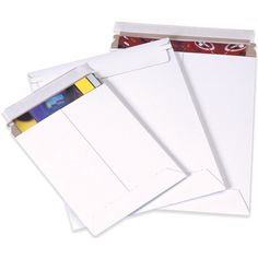 White Self-Seal Flat Mailers from 4mailers.com #packaging #packagingmaterials #moving #shippingmaterials