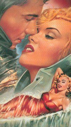 Niagara   Belgian Movie Poster, 1953 (Detail)