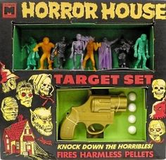 Horror House Target Set