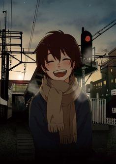 并不是因为幸福才笑,而是因为笑了才幸福。