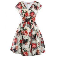 vestidos vintage floreados largos , Buscar con Google